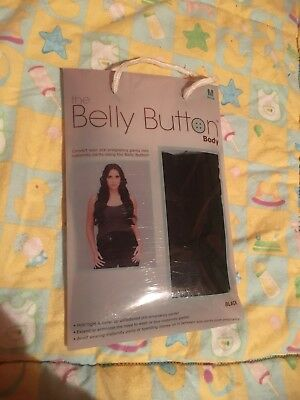 The Belly Button Maternity Band  Size Medium Black  Great To Wear Your Fav Pants