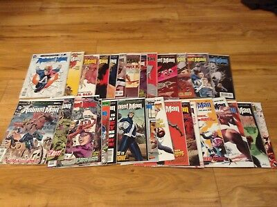 Animal Man #1-29, #0, Annuals #1-2 The New 52 Jeff Lemire Complete DC Comics