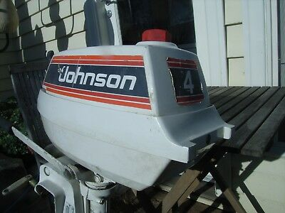 Johnson 4Hp Outboard