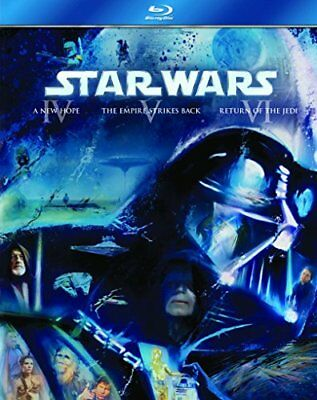 Star Wars: The Original Trilogy Episodes IV with Mark Hamill New (Blu-ray  1977)