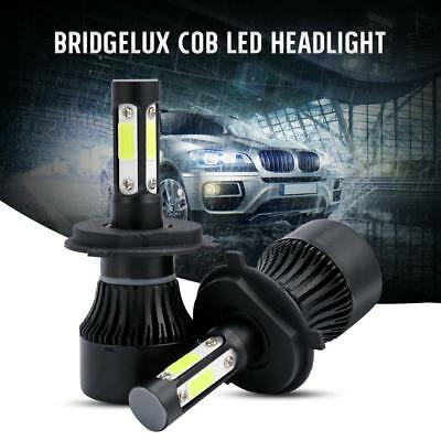 CREE H4 HB2 9003 1700W 255000LM 4-Sided LED Headlight Kit Hi/Lo Power Bulb 6000K