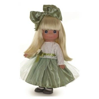 Precious Moments 12 Inch Doll, Lovely In Lace, Blonde Hair, Gardenia, New, 6570