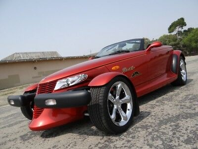 2001 Plymouth Prowler Chrysler Convertible 2001 Plymouth Prowler Roadster 1 Owner Only 5k Miles MINT Pearl Orange Chrysler