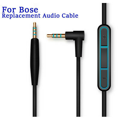 Cable Remote Mic F/ Bose QuietComfort 25 35 QC25 QC35 Headphone Android Phone