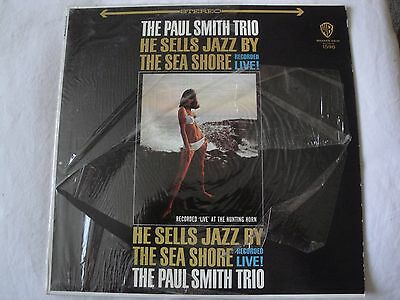 The Paul Smith Trio He Sells Jazz By The Sea Shore Recorded Live Vinyl Lp 1965