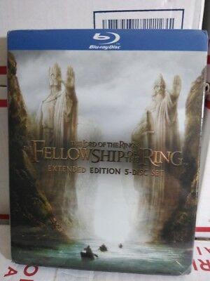 The Lord Of The Rings The Fellowship Of The Ring 5-Disc Extend Edition  Blu-Ray