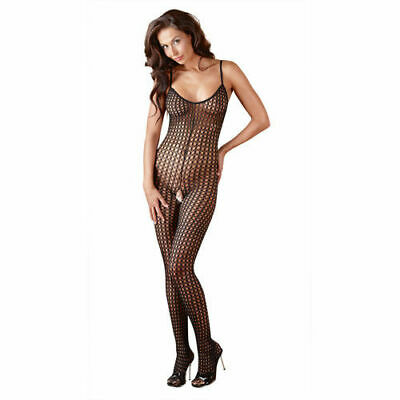 Mandy Mystery lingerie Catsuit schwarz M/L Overall Anzug Body Bekleidung