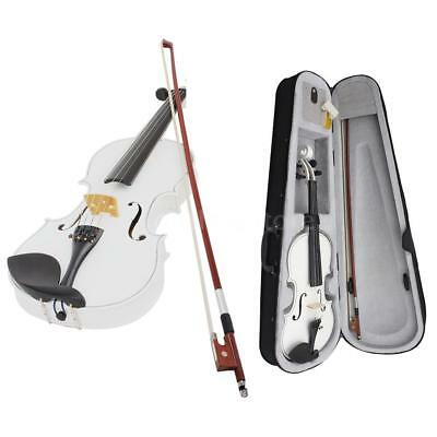 Professional 4/4 Violin Fiddle Basswood Steel String w/ Case Beginners Gift