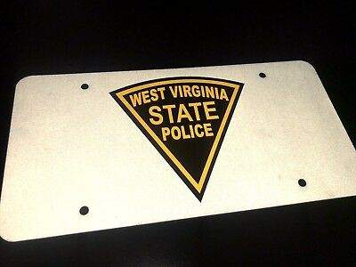 West Virginia State Police License Plate (Front)
