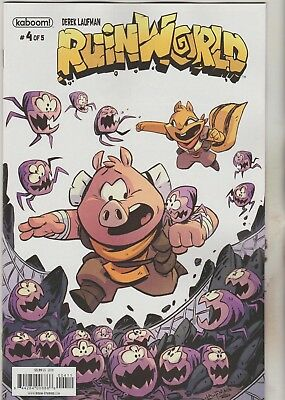 Kaboom Comics Ruinworld #4 October 2018 1St Print Nm