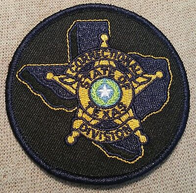 TX Texas State Correctional Division Patch (3In)