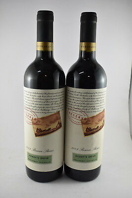 2 x Henry's Drive Reserve Shiraz 2003, Rated 95/100 RRP $70 Each