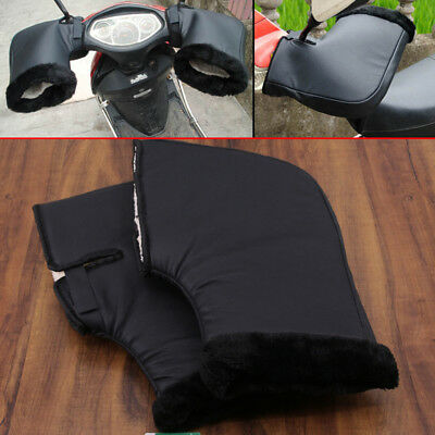 Motorcycle Handle Bar Muffs Motor Bike Hand Protector Mitts/gloves Au Stock