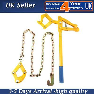 800KG Load Chain Strainer Monkey Cattle Wire Fence Tensioner Pull Stretcher 1.2M