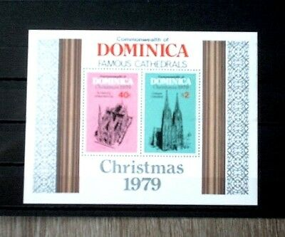 DOMINICA: Mi.-Nr.Block 59 postfr./MNH, Famous Cathedrals,Bitte ansehen!