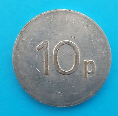 ASSOCIATED LEISURE GROUP ALL 10P 28mm MEDAL / TOKEN