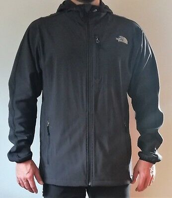 "Softshell Jacke ""The North Face"" Herren Gr. L Regular - dark gray (Original)"