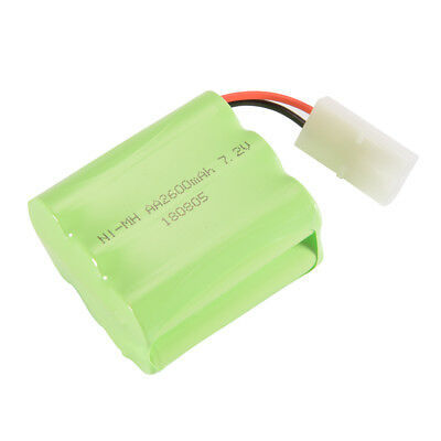 AA NI-MH 7.2V 2600mAh Rechargeable Battery Spare Pack KET-2P Plug for Toys BC759