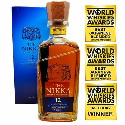 New The Nikka 12 Year Old Japanese Whisky