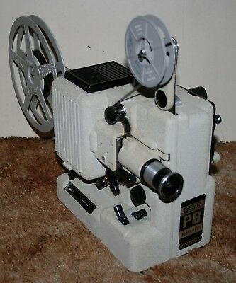 Eumig P8 Phonomatic Novo Standard 8mm Film Projector Silent - Xenophot Lamp RARE