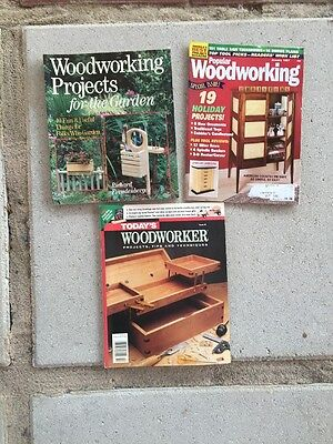 Lot Of Vintage Woodworker Popular Woodworking Woodworking Projects