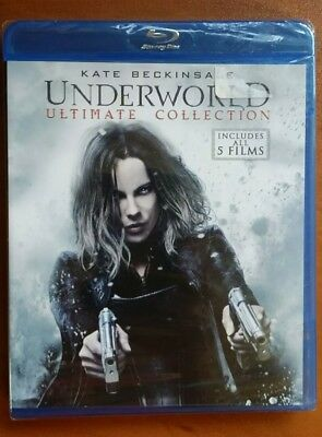 Underworld: Ultimate Five Film Collection NS (Blu-ray Disc, 2017)
