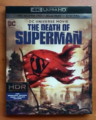 The Death of Superman  4K Ultra HD  + Blu-ray + Digital Code, DC UNIVERSE MOVIE