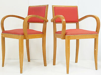 Pair Of Armchairs Bridge French Vintage 1950 Rockabilly 50S 50's Years 50