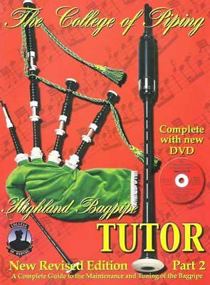 Learn Highland Bagpipes College of Piping Tutor Books No1 seller early edition