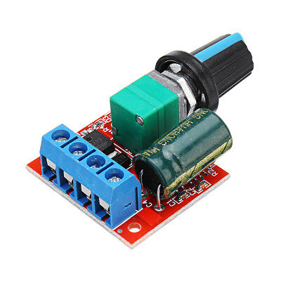 3Pcs DC 5V To DC 35V 5A 90W Mini DC Motor PWM Speed Controll