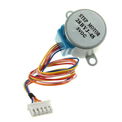 3pcs Gear Stepper Motor DC 5V 4 Phase 5-Wire Reduction Step For