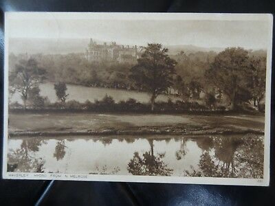 Waverley Hydro from N Melrose Edwards Selkirk Postcard to Keith Roxburghshire