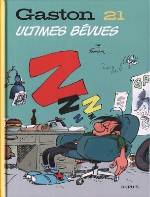 Gaston ** Tome 21 Ultimes Bevues **  Neuf Franquin