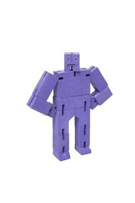 (Violet) - Areaware Small Cubebot - Violet. Harmony Ball. Brand New