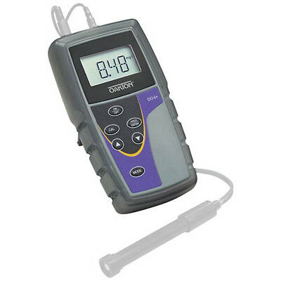 Oakton WD-35643-10 DO 6 Dissolved Oxygen Meter w/Sol., Caps, Boot