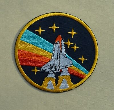 patch NASA, broder et thermocollant ,9/9.5cm