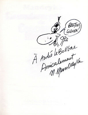 Signed Mandryka the Adventures Vegetable of the Cucumber Masquerade Dargaud 1973