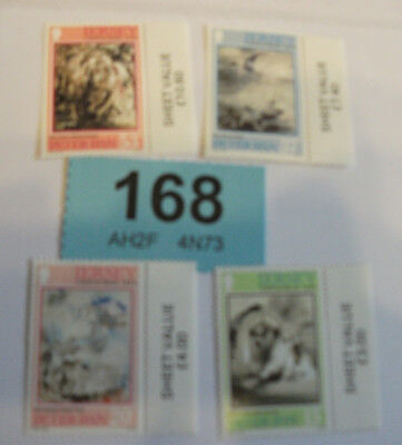 JERSEY 1991 Xmas Mint set of Stamps