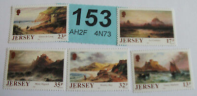 Jersey 1989 Mint set of stamps Artist 150th Anni of Sarah Lousia Kilpack