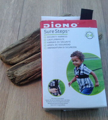 Diono Sure Steps Safety Harness and Reins Age 2-4 Years Childminder School Run