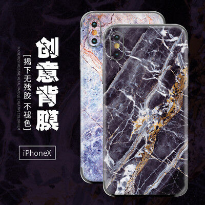 3M Vinyl Decal Skin 3D Rock Marble Textured Sticker Wrap Cover for iPhone 7/8/X
