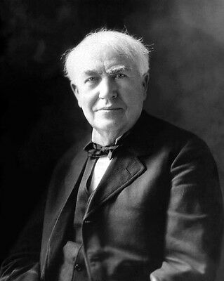 American Inventor THOMAS A. EDISON 8x10 Photo Print Portrait