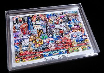 Pop Art 3D London  - CALLING / Popart Rizzi Fazzino