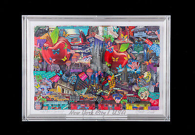 Pop Art 3D New York City / Popart Rizzi Fazzino