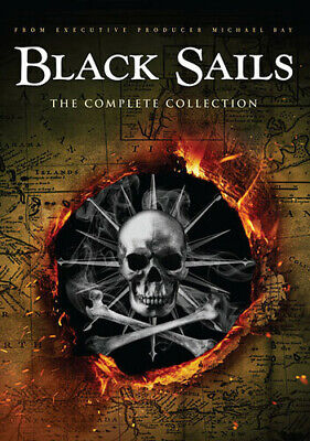 Black Sails: Season 1-4 Collection [New DVD] Collector's Ed
