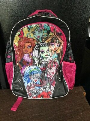 c26a86779a MONSTER HIGH BACKPACK 16