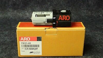 "New! INGERSOL RAND ARO 1/4"" NPT COMPACT AIR LINE FILTER 150 PSI P/N F35121-400"