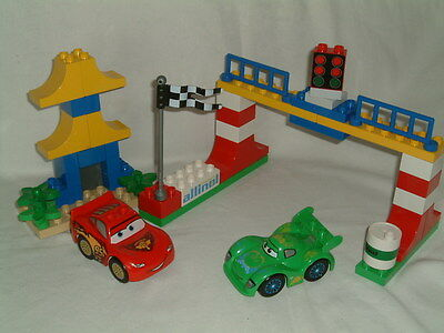 Lego Duplo Cars 2 5819 Complete With Instructions And Original Box