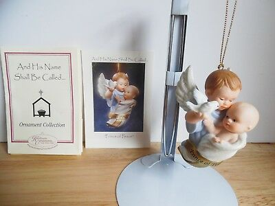 1998 Ashton-Drake Porcelain Ornament And His Name Shall Called Prince of Peace