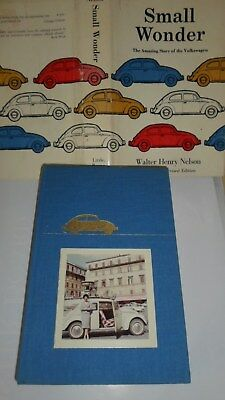 Small Wonder The  Amazing Story Of The Volkswagen By Nelson & A Real Photo 1961